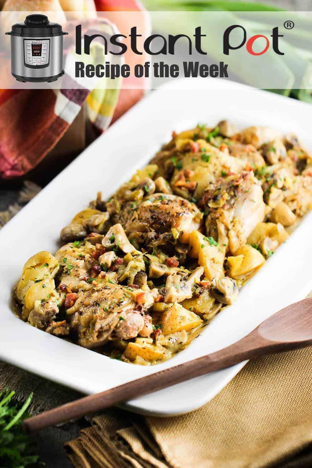 Instant Pot Chicken Provencal recipe