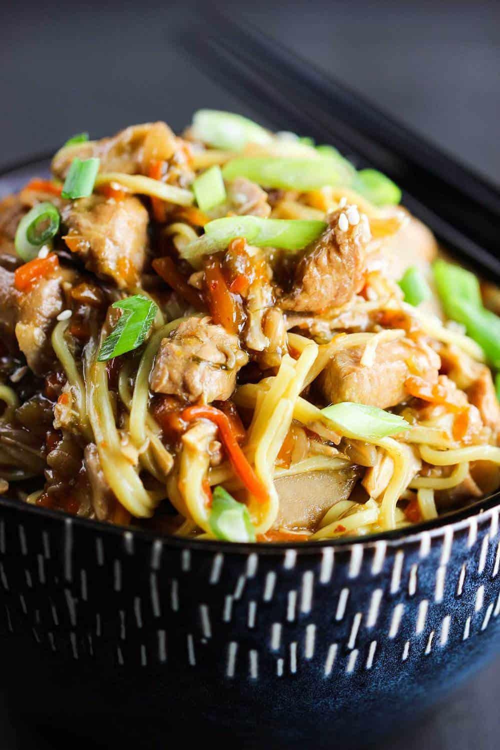 Slow Cooker Chicken Chow Mein recipe