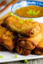 Homemade egg rolls are so much fun to make and are so delicious!