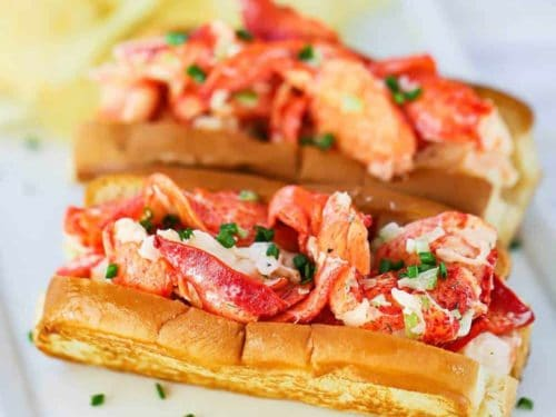 Lobster Roll Authentic Recipe With Video How To Feed A Loon