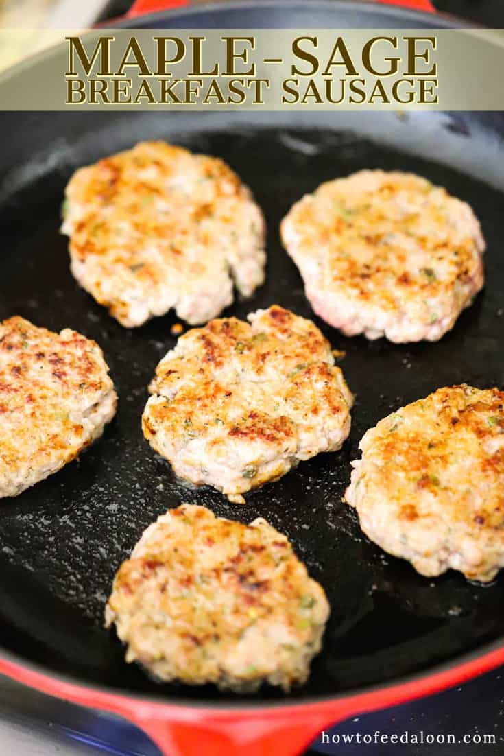 Maple Sausage Patties (with Vide)   How To Feed A Loon